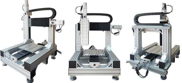 Портальный манипулятор / координатный стол модели МПЛ-3-03