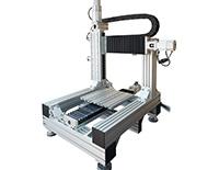 Координатный стол МПЛ-3-03 на базе высокоточного алюминиевого профиля