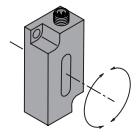 Угломеры (инклинометры) Kubler IS40 1-ось