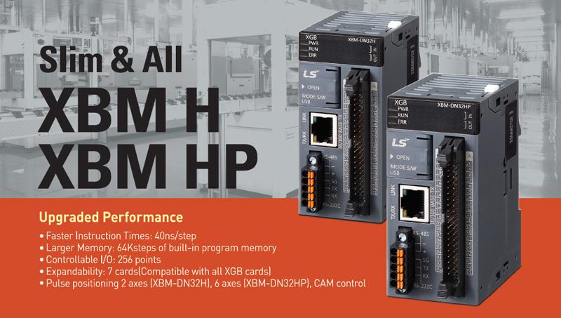 программируемые контроллеры LS Mecapion XEM-DN32H2 и XEM-DN32HP