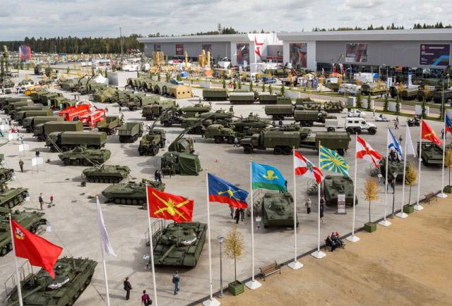 крупнейшая выставка военной техники в России - Армия 2018
