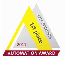 Первое место на Automation Award 2017 за новую систему обратной связи для энкодеров Kübler Sendix S36