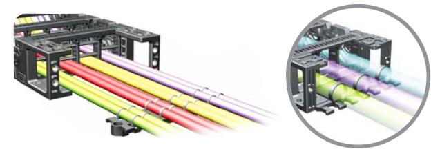 Основная механическая нагрузка в кабель каналах приходится на внешнюю конструкцию