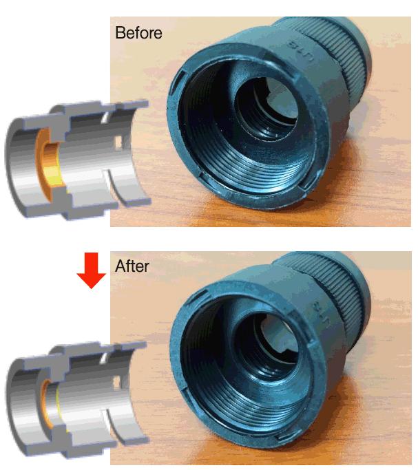 Произведены улучшения конструкции CPSFIX коннектора от CPS
