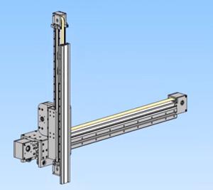 Телескопическая система модулей линейного перемещения