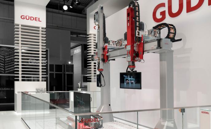 Новый телескопический портал Gudel