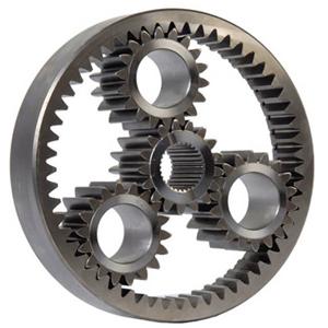 Редуктор устройство - цилиндрическая передача с внутренним зацеплением