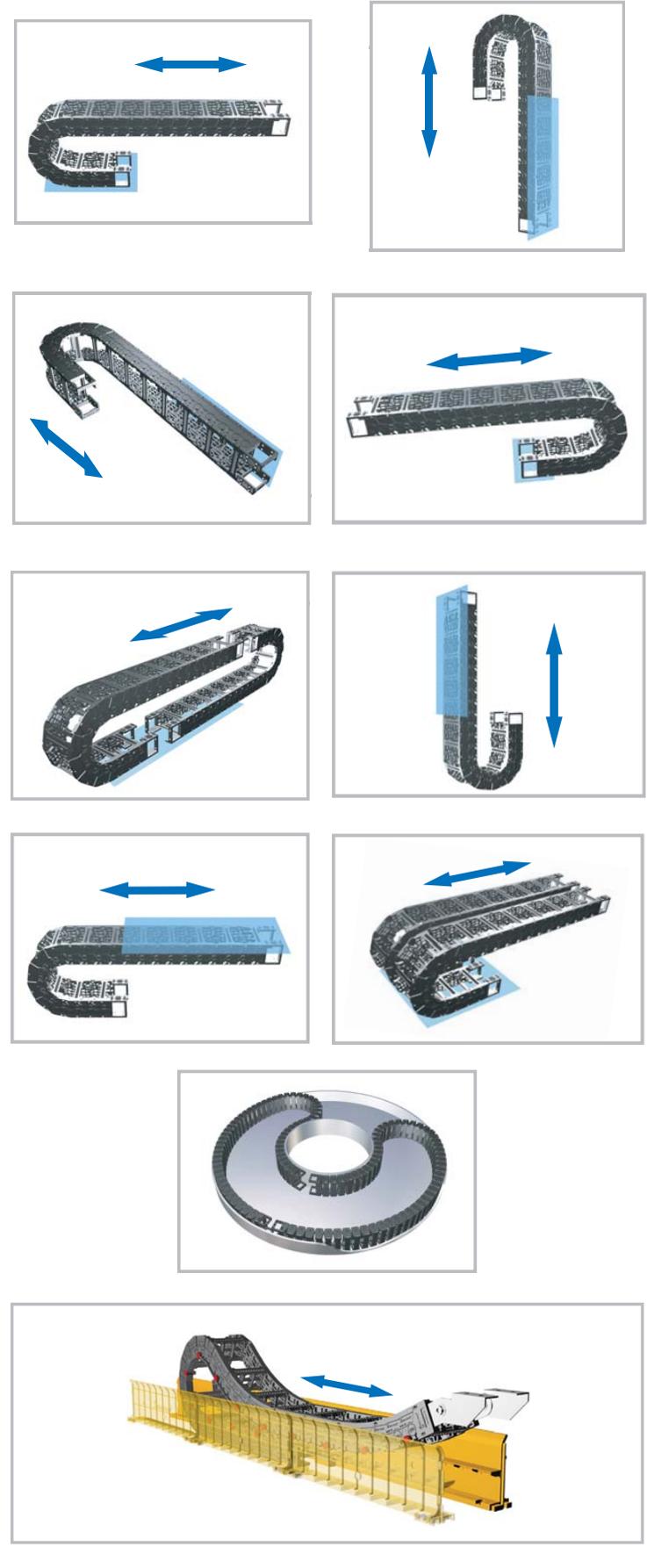 Основные типы систем защиты кабелей (типы кабель каналов)