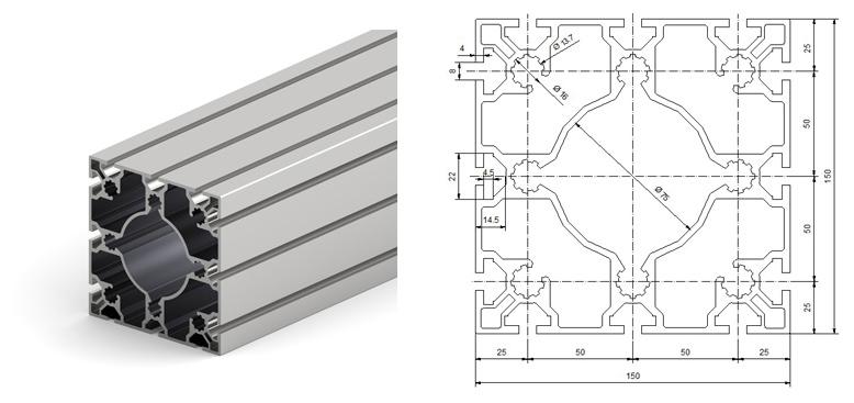 Каталог конструкционного алюминиевого профиля
