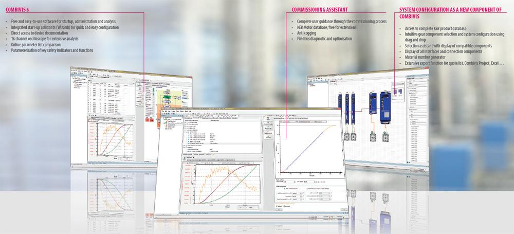 Программное обеспечение для частотных преобразователей KEB COMBIVERT S6