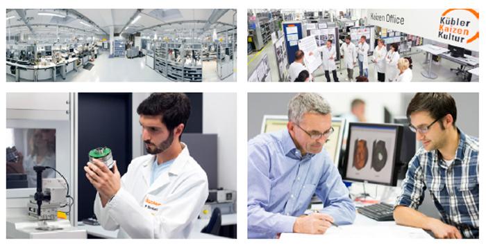 Kubler (Kuebler)  - копания - мировой лидер в разработке и производстве энкодеров