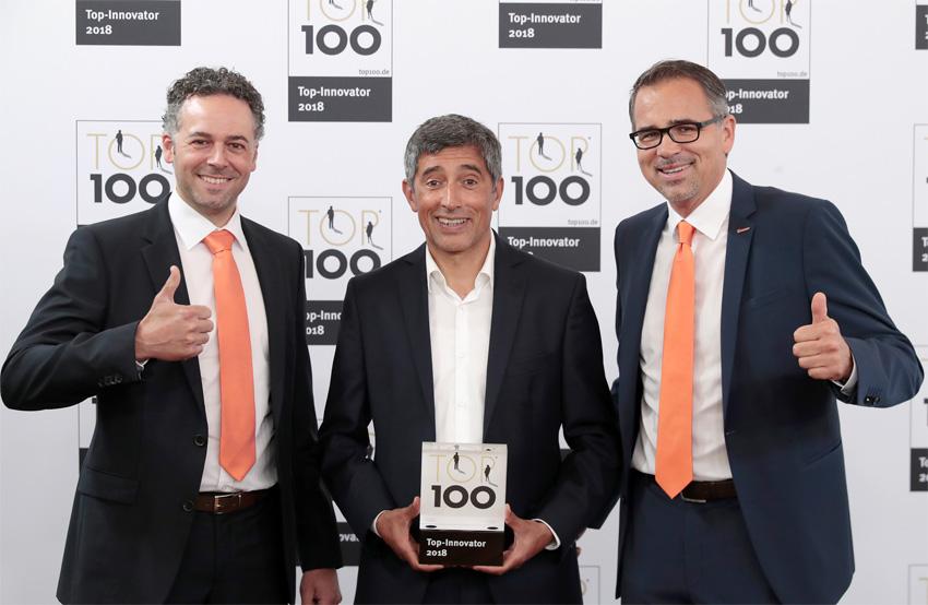 Kubler (Kuebler) среди списка ТОП 100 инновационных компаний