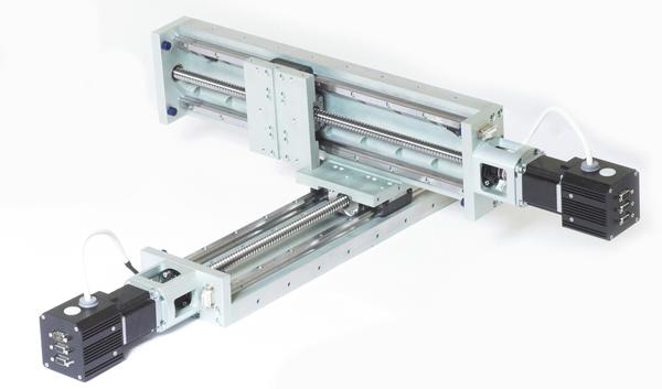 Сервоприводы для модулей линейных перемещений