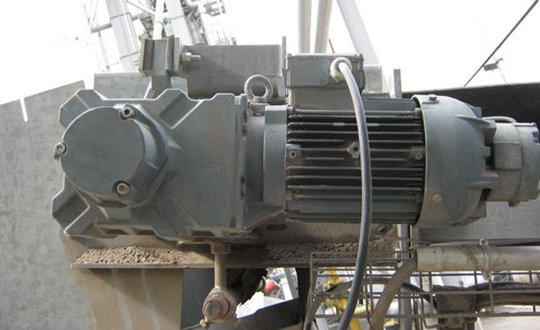 Мотор-редуктор - установка