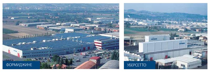 Заводы компании Motovario (Мотоварио) (Италия)