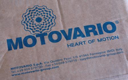Motovario (Мотоварио) (Италия) - Мade in Italy. Пример упаковки оригинальной продукции с завода Формиджине (Италия)