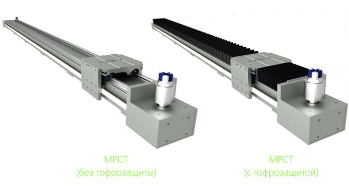 Модули линейного перемещения с ременным приводом серии МРСТ