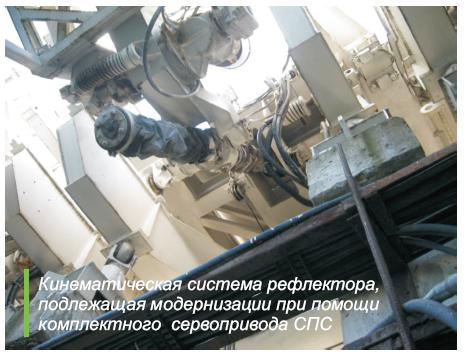 Радиотелескоп РАТАН кинематика