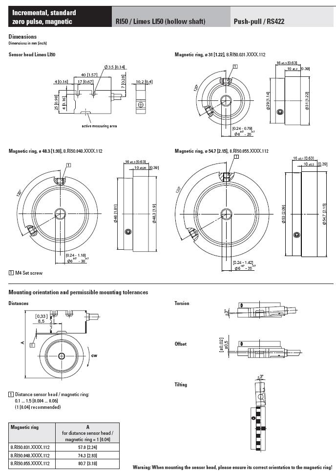 Бесподшипниковые магнитные системы Kubler