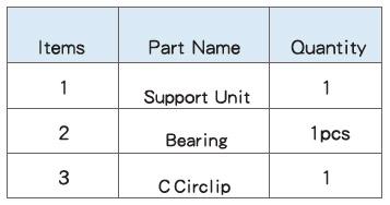 Подшипниковые опоры SBC серии BF - характеристики