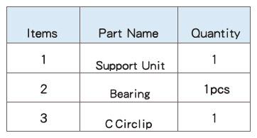 Подшипниковые опоры SBC серии EF - характеристики