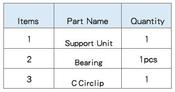 Подшипниковые опоры SBC серии FF - характеристики