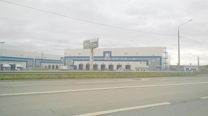 Фото заезда на склад компании Сервотехника