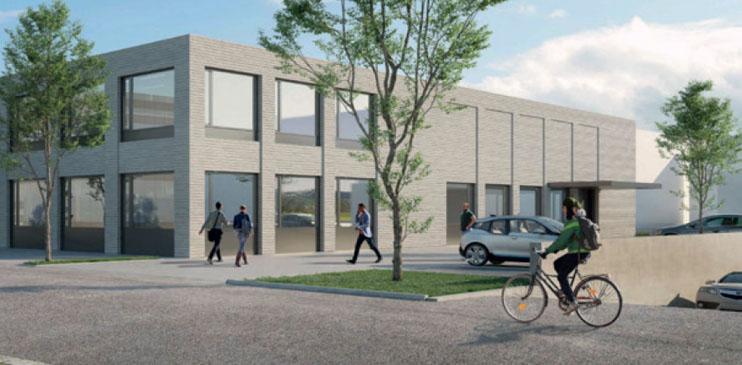 Строительство нового многофункционального здания общей площадью 3100 м2 для компании ZIMM
